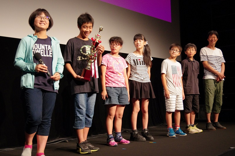 M・I・Pに選ばれた『ゴミはゴミ箱へ』の里小学校制作チーム