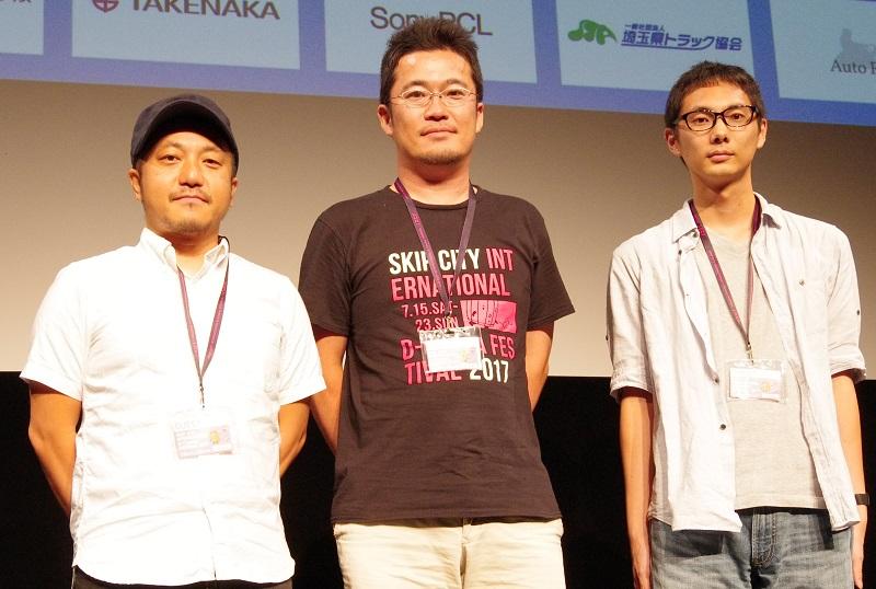 白石和彌監督、中野量太監督、坂下雄一郎監督
